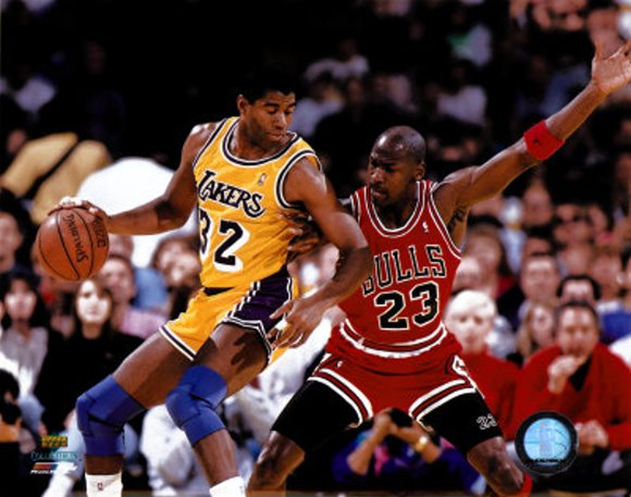 Michael Jordan vs Magic Johson